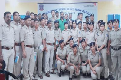 Training on Anti Human Trafficking